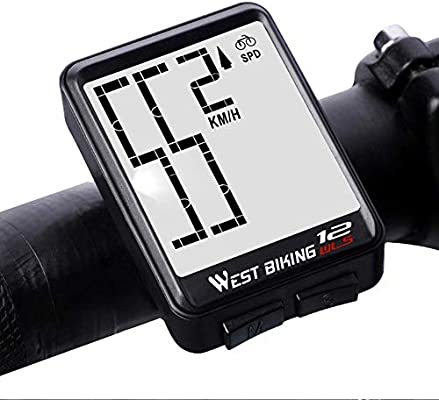 Cuentakilómetros, ordenador para bicicleta, impermeable ...