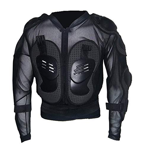 iLXHD Motorcycle Full Body Armor Jacket Motocross Racing Spine Chest Protection Coat for Men and ()
