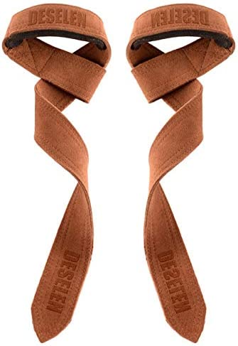 Amazon.com : Deselen Leather Lasso Lifting Straps with Thick Soft Sponge  Lining Wrist Loop, Pair(2)-LS03 : Sports & Outdoors