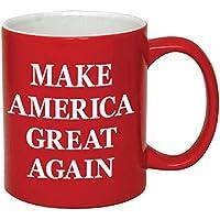P&B Donald Trump, Make America Great Again Ceramic Coffee Mugs