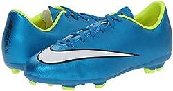 Nike Junior Mercurial Victory V Fg- (Blue Lagoonvoltblackwhite) (2.5y)