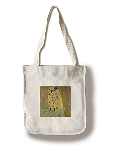 The Kiss - (Artist: Gustav Klimt c. 1908) - Masterpiece Classic (100% Cotton Tote Bag - - 1908 Framed