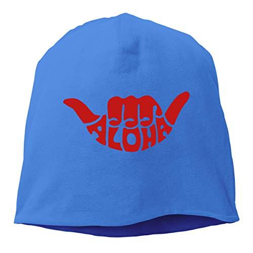 - TLPM9LKMBM Aloha Beanie Skull Cap Women Men - Winter Warm Daily Hat