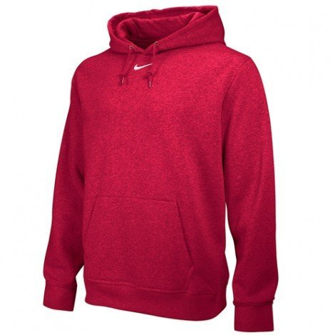 Nike Team Club Fleece Hoody, Sca/Wht, LG