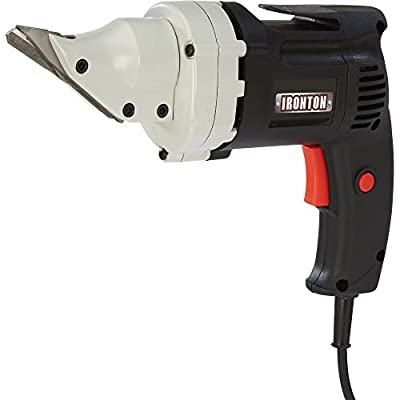 Ironton Electric Metal Shear - 4 Amp, 14 Gauge, 2500 SPM