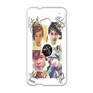Happy 5 SECONDS OF SUMMER Phone Case for HTC One M7