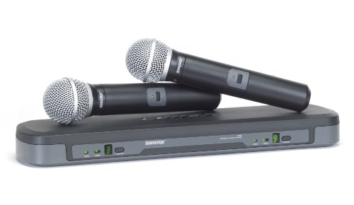 (Shure PG288/PG58 Dual Vocal Wireless System, H7)