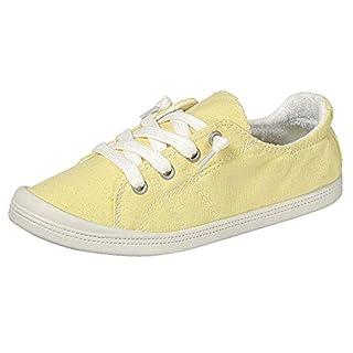 Forever Link Women's Classic Slip-On Comfort Fashion Sneaker, Mustard, 10