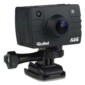 Rollei Bullet 5S Motorbike - Videocámara deportiva (14 Mp, 1080p, estabilizador óptico), negro
