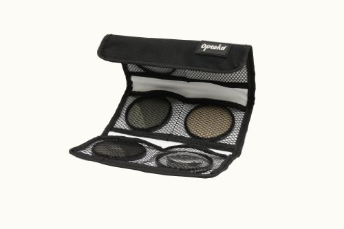 Opteka 30.5mm High Definition² Professional 5 Piece Filter Kit includes UV, CPL, FL, ND4 and 10x Macro Lens