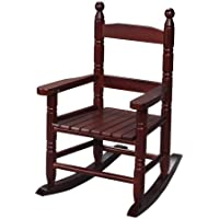 Gift Mark Childs Double Slat Back Rocking Chair, Cherry