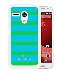 Unique Designed Kate Spade Cover Case For Motorola Moto G White Phone Case 276