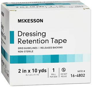 McKesson Dressing Retention Tape Roll 2 in x 10 yds