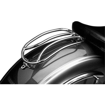 - 07-13 YAMAHA XVS13CT: Show Chrome Solo Rack - Tubular