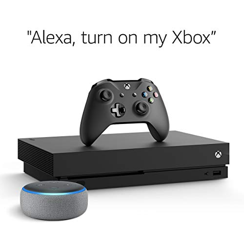 Xbox One X 1TB Console – Fallout 76 Bundle + Echo Dot (3rd Gen) Heather Gray