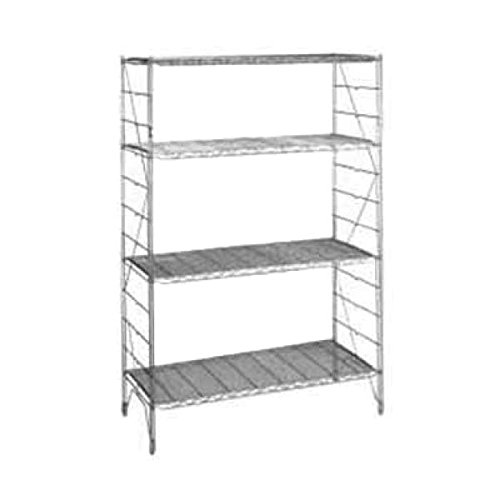 42' Chrome Wire Shelf (Metro Regular Erecta Shelf Wire 18'' 42'' Chrome-plated Finish 1842C)