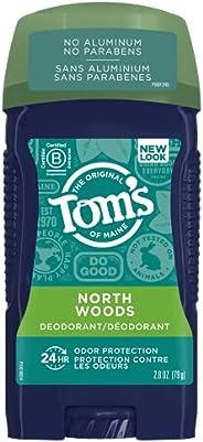 Tom's of Maine Long Lasting Northwoods Men's Natural Deodorant Sti