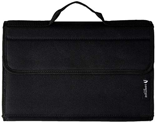 Alvin, Heritage Arts, MC60, Marker Carrying Storage Case, With Hook and Loop Closure - Holds 60 Markers
