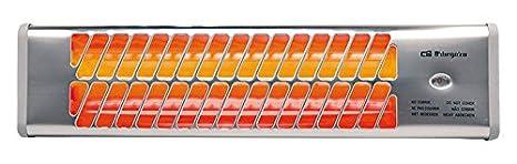 Orbegozo BB 5000 Estufa de Cuarzo de Baño, 1200 W, Plata: Amazon.es: Hogar