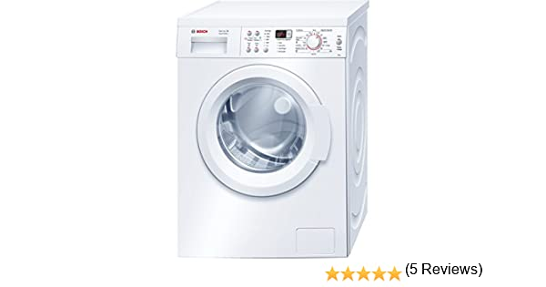 Bosch Serie 6 VarioPerfect - Lavadora (Independiente, Carga frontal, Blanco, Botones, Giratorio, Izquierda, LED): Amazon.es: Hogar