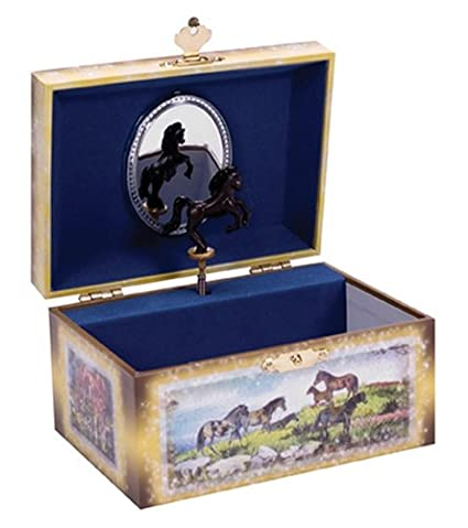Amazoncom Schylling Horse Jewelry Box Toys Games