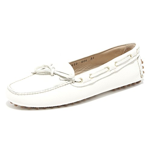 93002 Loafer Mocassino Women Shoe Scarpa Car Donna Bianco Shoes pgw45fqx