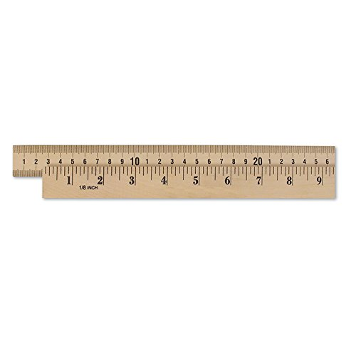 LEARNING RESOURCES WOODEN METER STICK PLAIN ENDS (Set of 24)