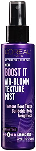 L'Oréal Paris Advanced Hairstyle BOOST IT Air-Blown Texture Mist, 4.2 fl. oz.