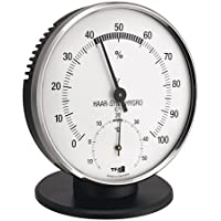 TFA Dostmann Thermo-Hygrometer, Multi-Colour, 0.8 x 13.5 x 3.8 cm
