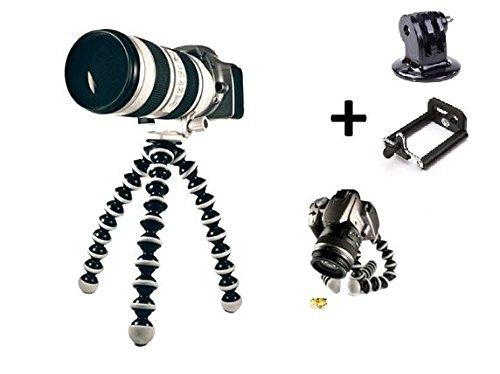 17 opinioni per Theoutlettablet® pod treppiede per l'azione macchine fotografiche, telecamere