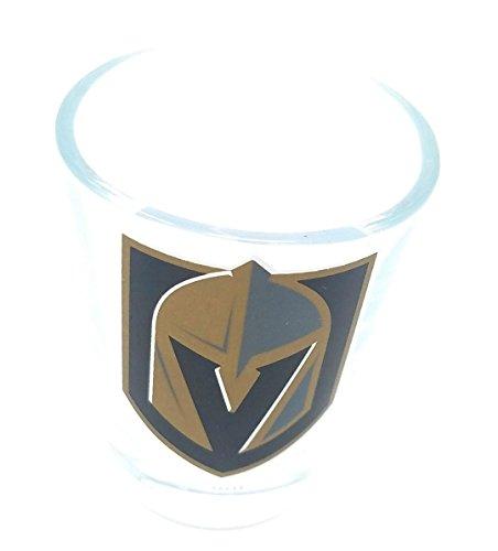 (Las Vegas Golden Knights Collectors Glass, 2 oz Shot Glass (#100102) (1) )