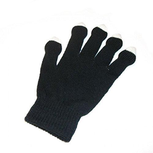 """Standard"" Glove Set - GloFX Black Rave Gloves - 8 LEDs"