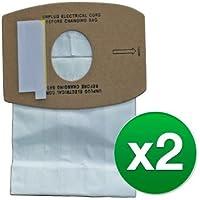 EnviroCare Replacement Vacuum Bag For RSLP-6 / Type J / 810 (2 Pack)