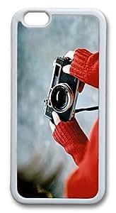 Camera Custom iPhone 6 Plus 5.5 inch Case Cover TPU White