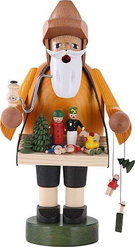 KWO Toy Vendor German Christmas Incense Smoker Handcrafted in Erzgebirge - German Smoker