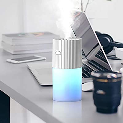 Euone_Home Room HumidifierHumidifier with 7 Color Lights Aromatherapy Diffuser Cool Mist Humidifier,Cool Mist Humidifier for Bedroom: Home & Kitchen