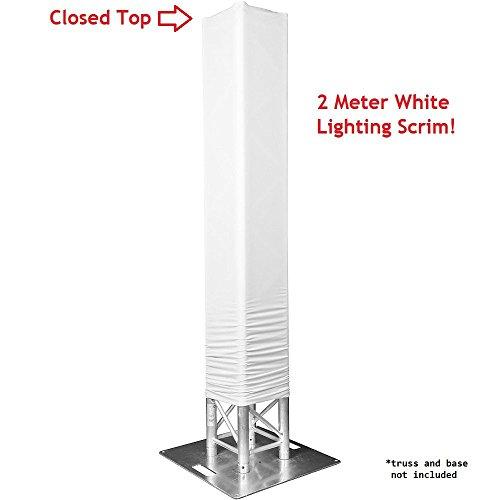 White Totem Lighting Sleeve Closed product image