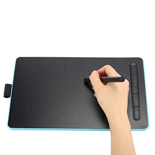 Digital Graphics Hand Writing Tablet Electronic Drawing Board, Writing Board, Electronic Students for Designers, Painting Lovers(Sapphire Blue)