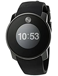 Movado 3600365 Bold Touch 2 Digital Swiss Quartz Black Watch