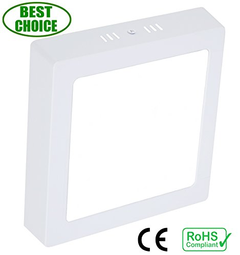 W-LITE 18W LED Flush Mounted LED Ceiling Down Light,Ceiling Panel Light, for Kitchen,Bathroom,Laundry,Bedroom,Hallway,Belcony,Dinning Room AC 85-265V,Warm White,1440lm,(120W halogen bulb equivalent)