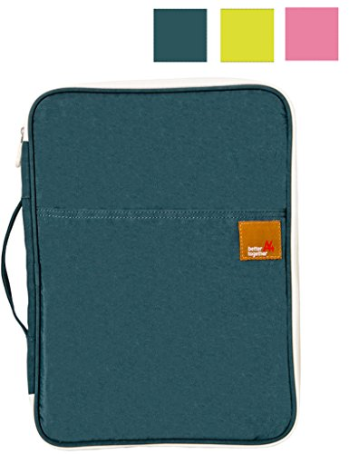 Mygreen Universal Travel Case for Laptop,Macbook,and Small Electronics and Accessories -Dark Green