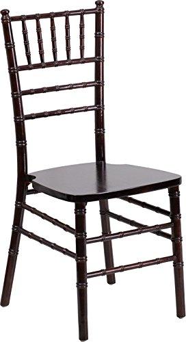 HERCULES Series Walnut Wood Chiavari Chair