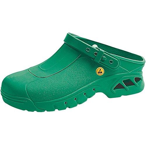 Abeba , Herren Sicherheitsschuhe grün grün 40