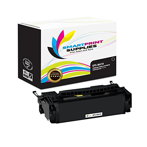 (Smart Print Supplies Compatible 4K00199 Black Toner Cartridge Replacement for Lexmark Optra M410 M412 Printers (15,000 Pages))