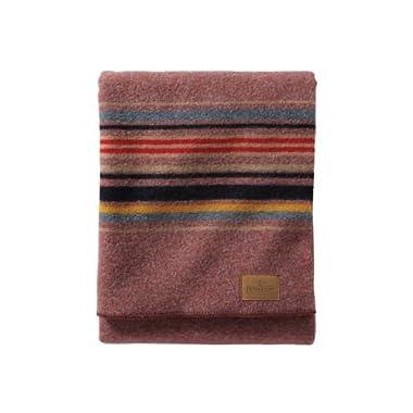 Pendleton Camp Wool Blanket, Red Mountain, Twin