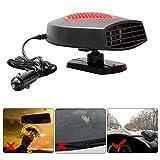 Ai CAR FUN Portable Car Heater,Car Heater Portable Fan Heater Portable Heating Defroster 12V Cooling Dryer Warmer Fan Demister for Electric Car SUV Vehicles