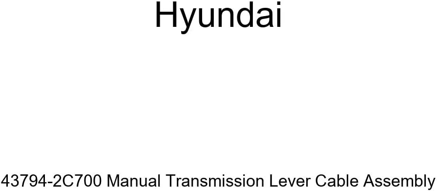 Genuine Hyundai 43794-2C700 Manual Transmission Lever Cable ...