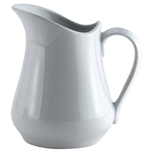 Harold Import Co. NT305-HIC White, 4 ounces (1, A) Classic Porcelain Pitcher/Creamer