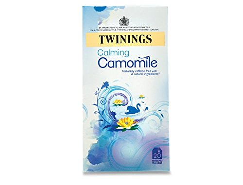 Twinings of London Pure Camomile Herbal Tea Bags, 20 Count from Twinings