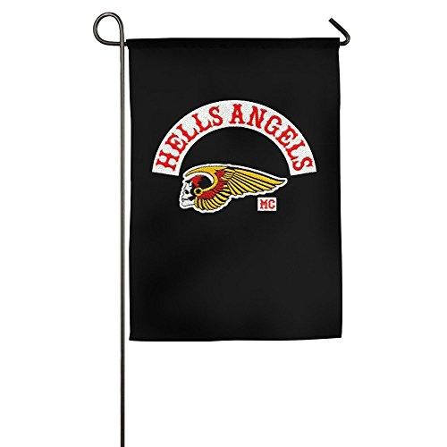 Hells Angels Motorcycle Club Logo H A  Garden Flag No Flagstick